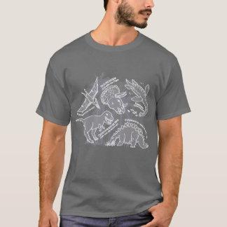 Dinosaur how do you say grey t-shirt