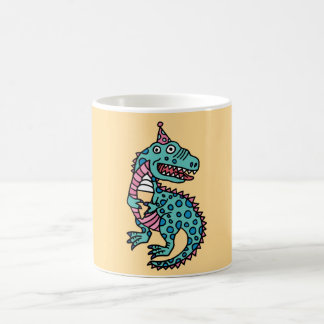 Dinosaur & Ice Cream Coffee Mug