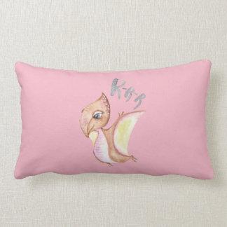 Dinosaur Illustration Lumbar Pillow