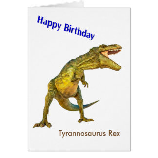 Dinosaur image for Birthday-Greeting-Card Card