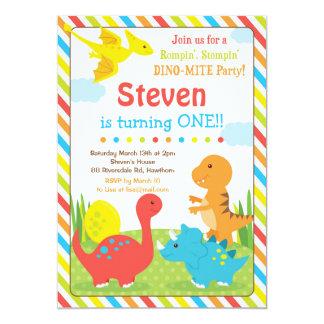 Dinosaur Invitation / Dino Invitation