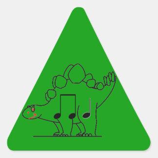 Dinosaur IPA Triangle Sticker