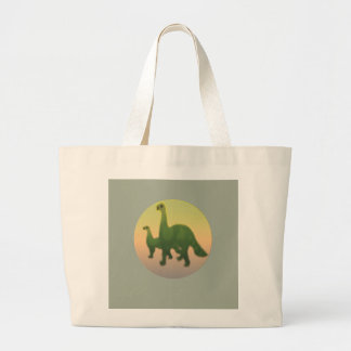 Dinosaur Large Tote Bag