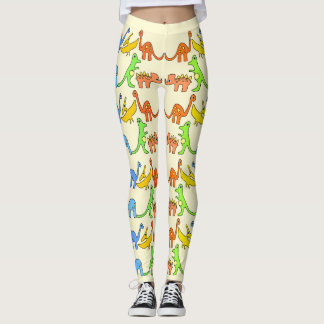 Dinosaur Leggings/Cute leggings/ABDL leggings
