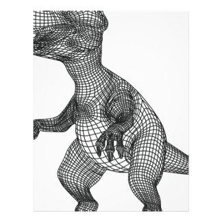 dinosaur letterhead