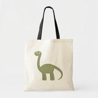dinosaur love tote bag