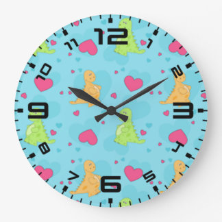 Dinosaur Love Wallclocks