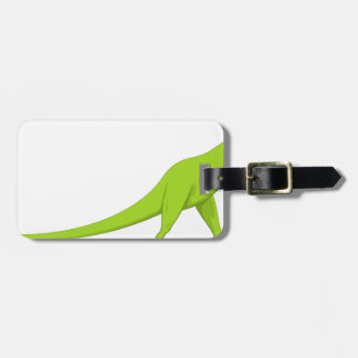 Dinosaur Luggage Tag