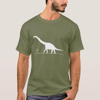 Dinosaur & Man T-Shirt
