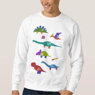 < Dinosaur old living thing (deep) > Dinosaurs & Sweatshirt