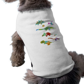 < Dinosaur old living thing (water color) Dog Clothes