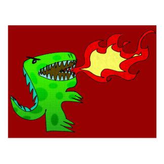 Dinosaur or Dragon by Jessica Jimerson - 2 Postcard