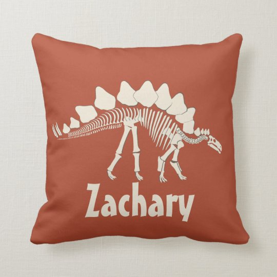 Dinosaur Personalized Throw Pillow