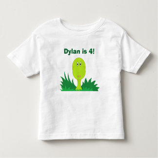 """Dinosaur"" Personalized Toddler T-Shirt"