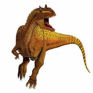 Dinosaur Photo Sculpture Allosaurus Gregory Paul