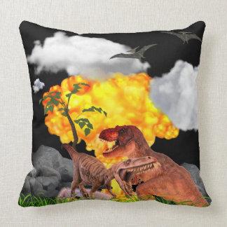 Dinosaur Pillow Jungle Fire Explosion Boys