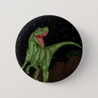 Dinosaur - Prehistoric Night 2 Inch Round Button