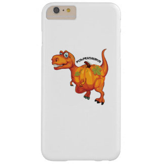 Dinosaur Pumpkasaurus Halloween Thanksgiving Barely There iPhone 6 Plus Case