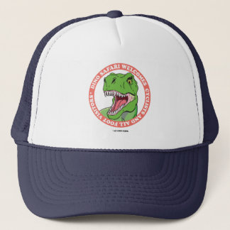 Dinosaur Safari Trucker Hat