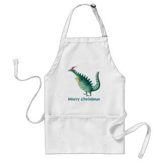 Dinosaur - Santa Claus Helper Standard Apron