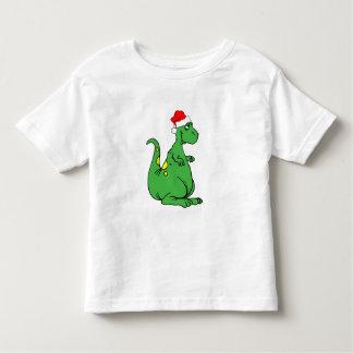 dinosaur Santa Toddler T-shirt