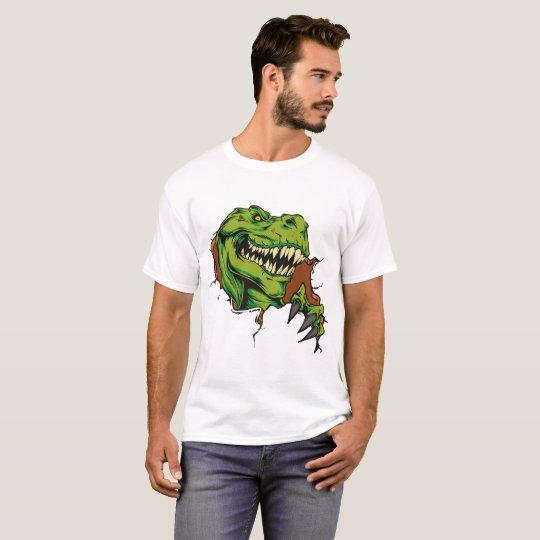 Dinosaur shirt Design comic Tattoo styles