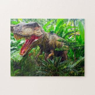 Dinosaur Singapore Zoo. Jigsaw Puzzle