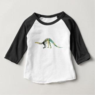 Dinosaur Skeleton Baby T-Shirt