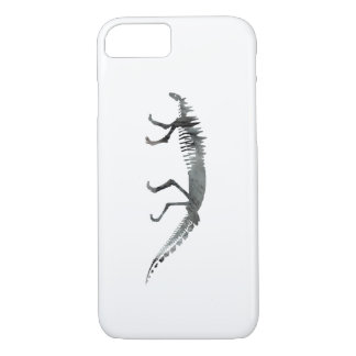 Dinosaur skeleton iPhone 7 case