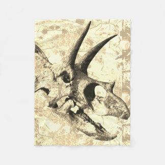 Dinosaur Skull Print Design Blanket