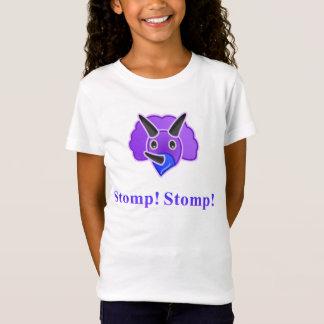 Dinosaur Stomp Stomp kids shirt