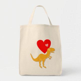 Dinosaur T-Rex Big Shopping Bag
