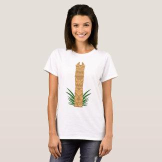 Dinosaur Tiki Totem T-Shirt