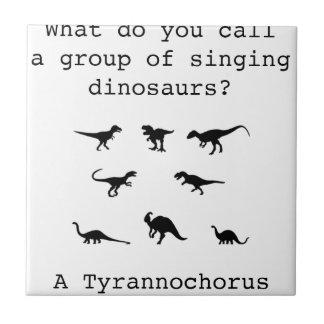 Dinosaur Tile