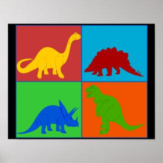 Dinosaur Toys Poster