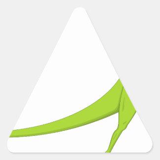 Dinosaur Triangle Sticker