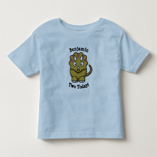 Dinosaur two today t-shirt