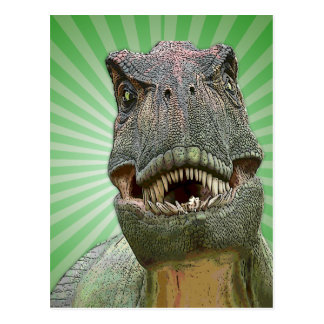 Dinosaur Tyrannosaurus rex Postcard