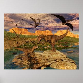 Dinosaur valley poster