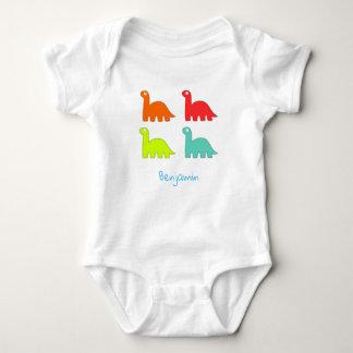 Dinosaur Vest Baby Bodysuit