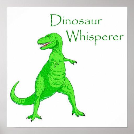 Dinosaur Whisperer Print