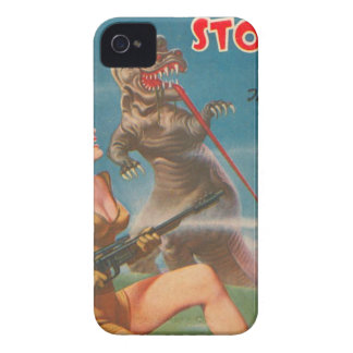 Dinosaur with a Big Tongue iPhone 4 Covers