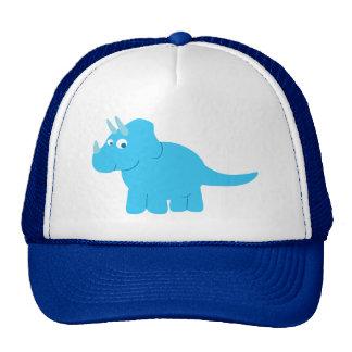 Dinosaure bleu de Triceratops Casquette De Camionneur
