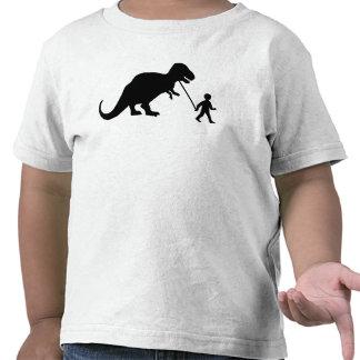 Dinosaure d'animal familier t-shirt