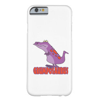 Dinosaure grincheux Dino de Grumposaurus Coque iPhone 6 Barely There