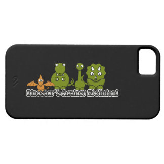 Dinosaurs Against Evolution Case For The iPhone 5