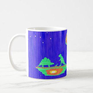 Dinosaurs and Mouse Coffee Mug