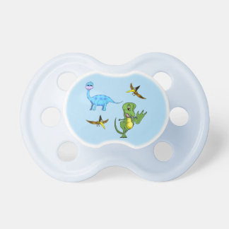 Dinosaurs Baby Pacifier