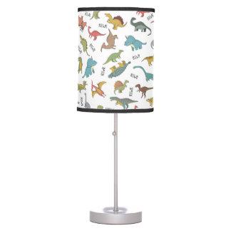 Dinosaurs Boy's Room Decor Table Lamp