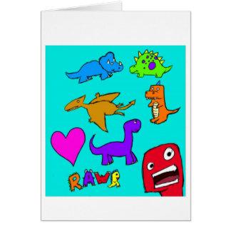 Dinosaurs! Card